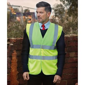 Hi-vis 2-band-and-braces waistcoat (HVW100) Thumbnail