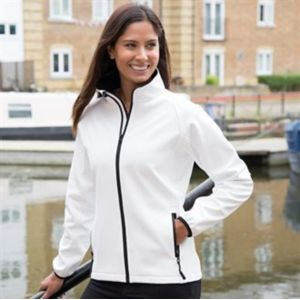 Women's printable softshell jacket Thumbnail