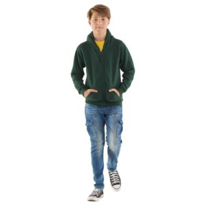 Childrens Classic Full Zip Hooded Sweatshirt Thumbnail