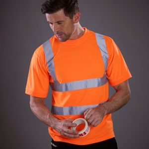 Hi-vis short sleeve t-shirt (HVJ410) Thumbnail