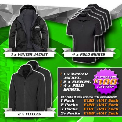 Winter Pack 1 - (1) Jacket, (2) Fleece, (4) Polos Thumbnail