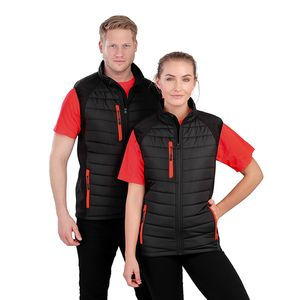 Black Compass Pad Softshell Gilet Thumbnail