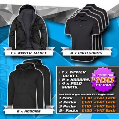 Winter Pack 2 - (1) Jacket, (2) Hoodies, (4) Polos Thumbnail